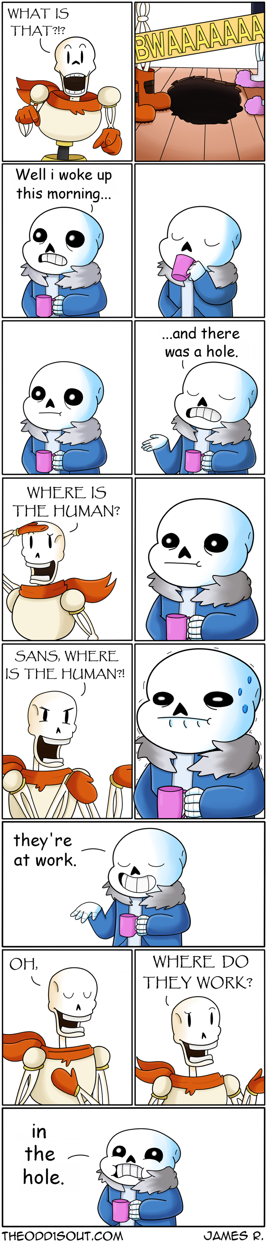 Papyrus and Sans looking for human | Undertale | Pinterest