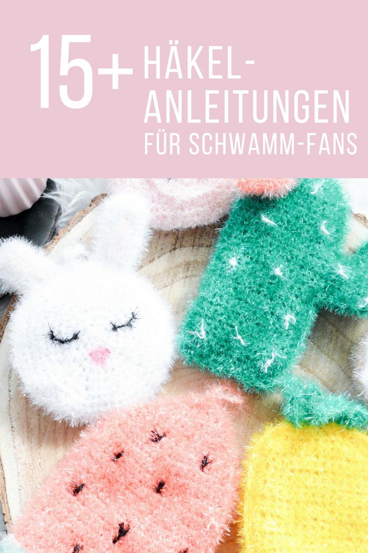 15+ instructions simples pour l'éponge – Mon cœur au crochet   – Stricken & Häkeln für die Küche