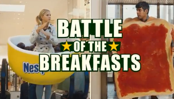 30bbd5003dec Battle of the Breakfasts campaign discussion got Channel 5 in trouble