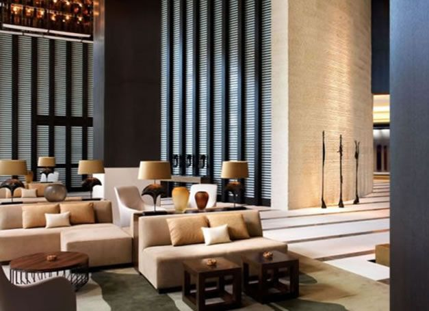Lobby Furniture Modern Impressive Contemporary Hotel Lobby  Hotel 1 590X428 Modern Minimalist . Design Decoration