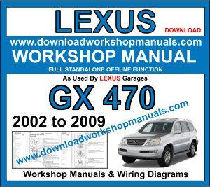 Lexus Gx 470 2002 To 2009 Workshop Manual Lexus Lexus Gx Lexus Es