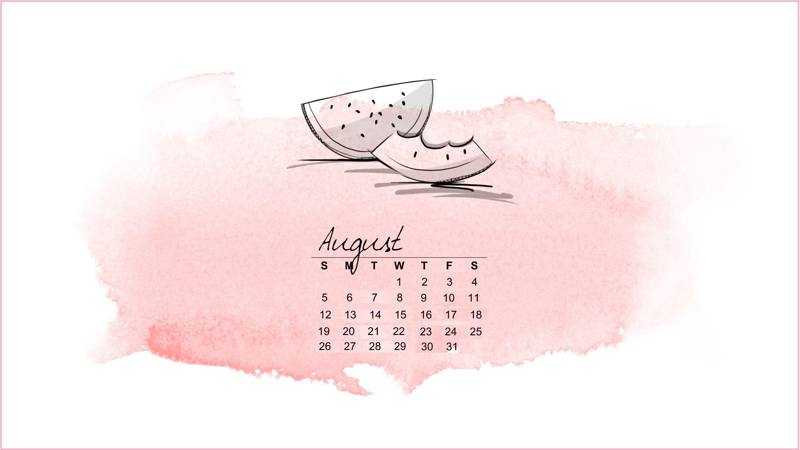 Free August 2018 Calendar Wallpapers Calendar Wallpaper Desktop Calendar Ipad Wallpaper