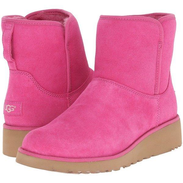 Womens Boots UGG Kristin Furious Fuchsia