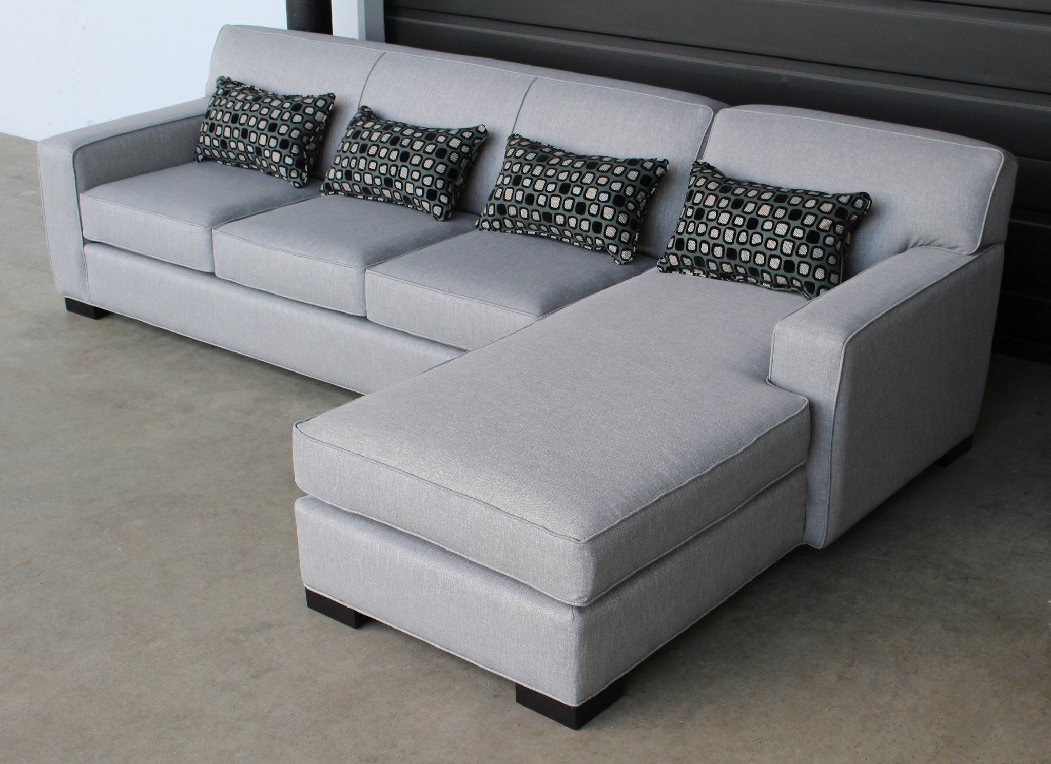 Arsenio Sofa Chaise Sectional - Made in Canada – Showhome Furniture