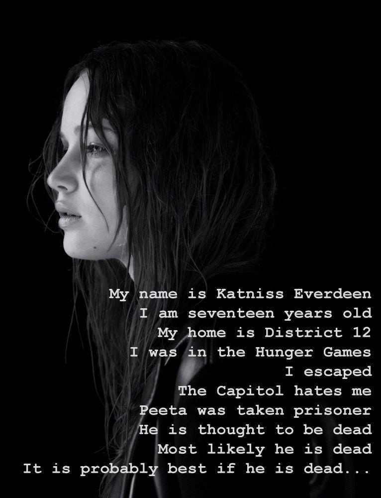 katniss and peeta relationship fanfiction