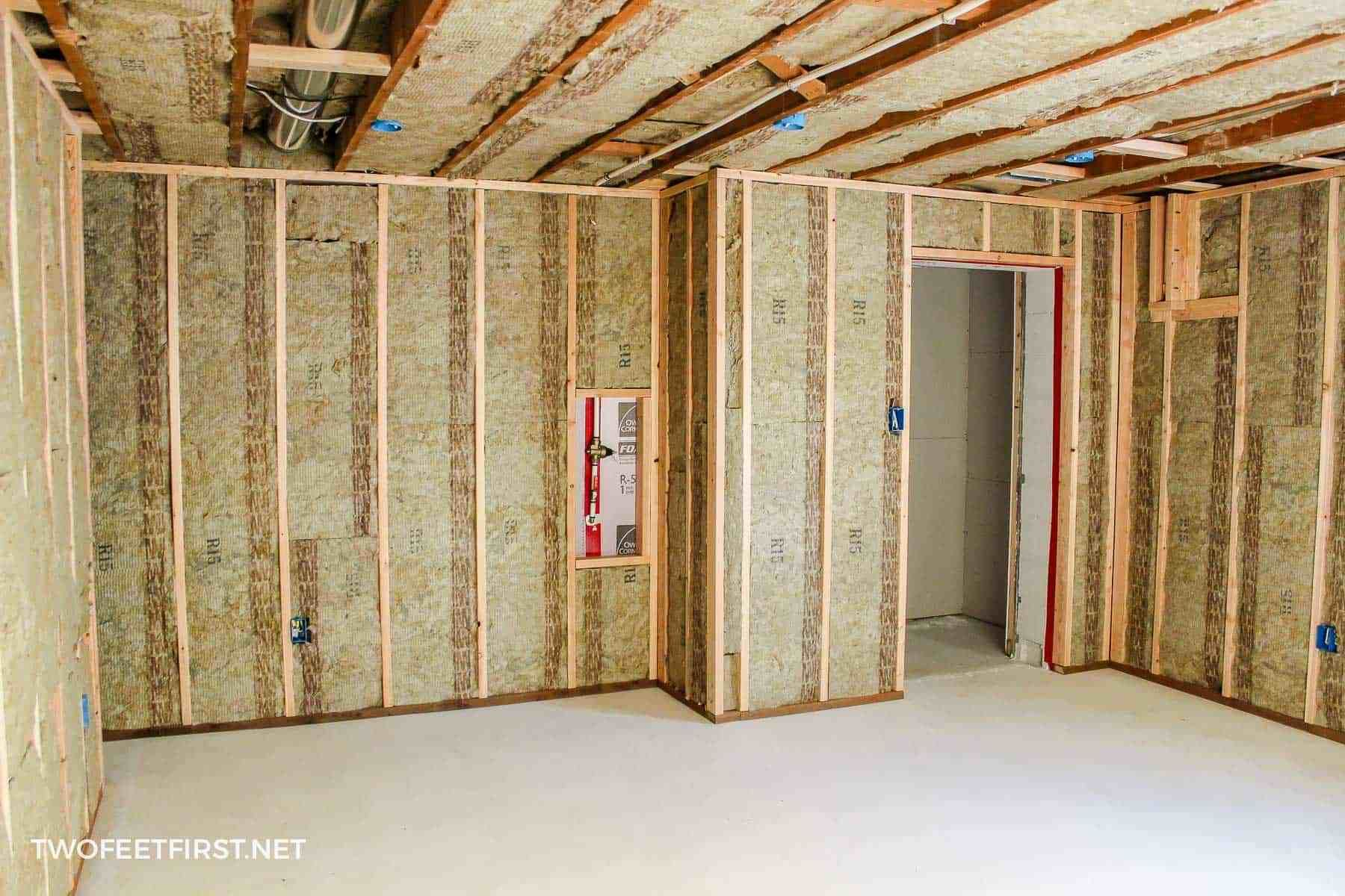 Insulating And Framing A Basement Framing Basement Walls Framing A Basement Insulating Basement Walls