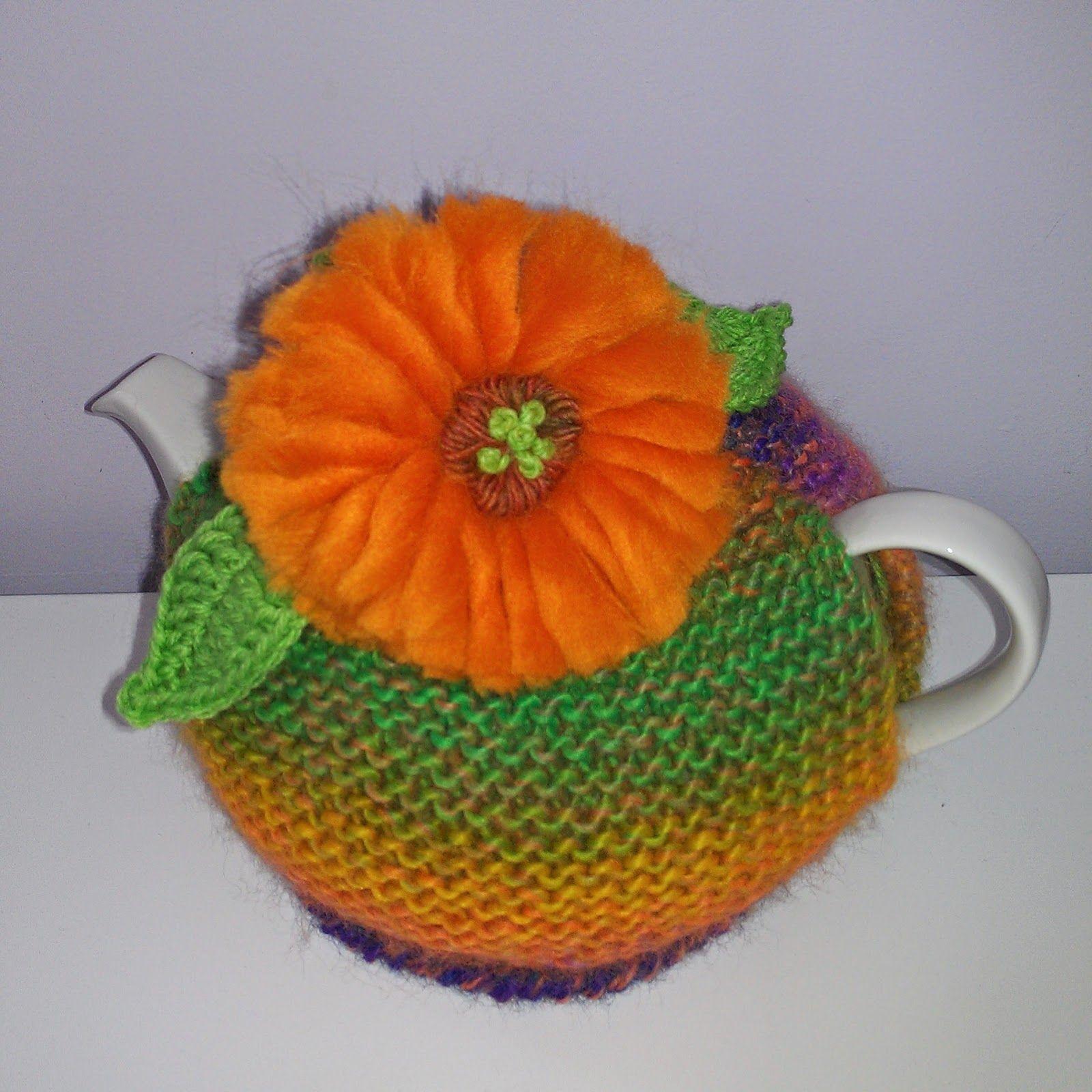 Craft a cure for cancer: Gerbera tea cosy   crochet   Pinterest ...