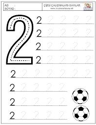 1 Rakamı Boyama Ile Ilgili Görsel Sonucu Matematik Kindergarten