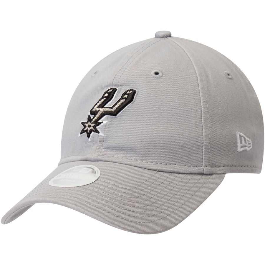 new product cc881 e6382 Women s San Antonio Spurs New Era Gray Team Core Classic 9TWENTY Adjustable  Hat, Your Price   19.99