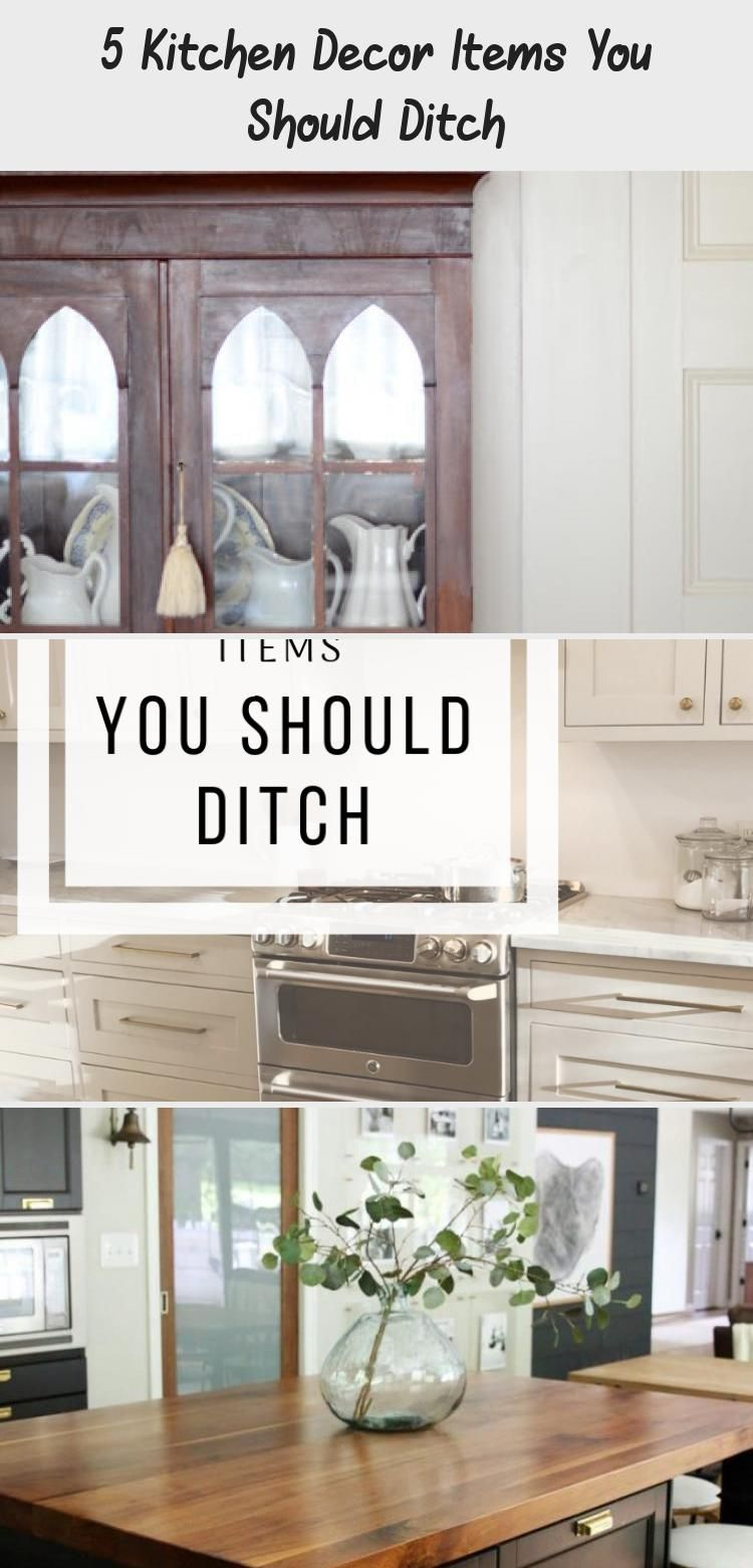 5 Kitchen Decor Items You Should Ditch Kitchen Decor Items