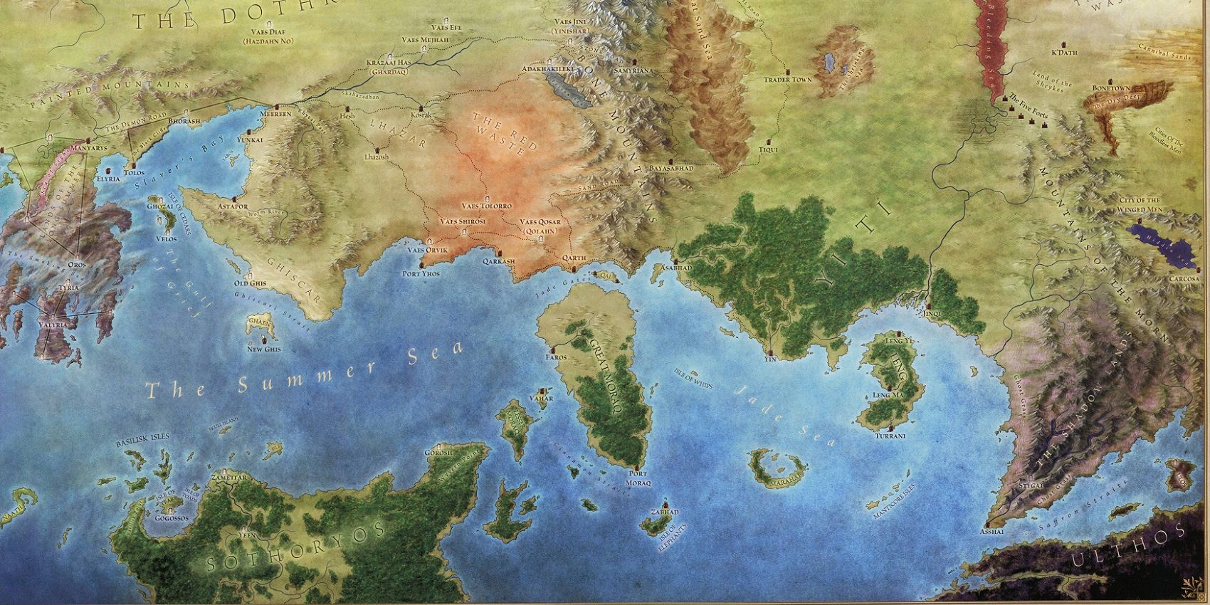 map of westeros. sothoryos and ulthos - Google-Suche   A ...  map of westeros...