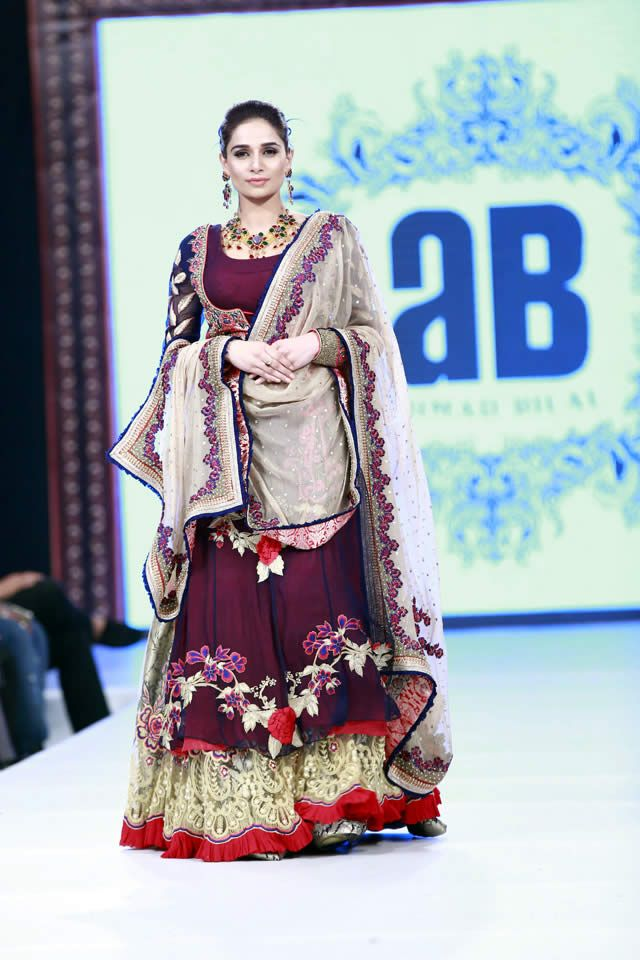 Ahmed Bilal Bridal Dresses at Shaan-e-Pakistan 2016