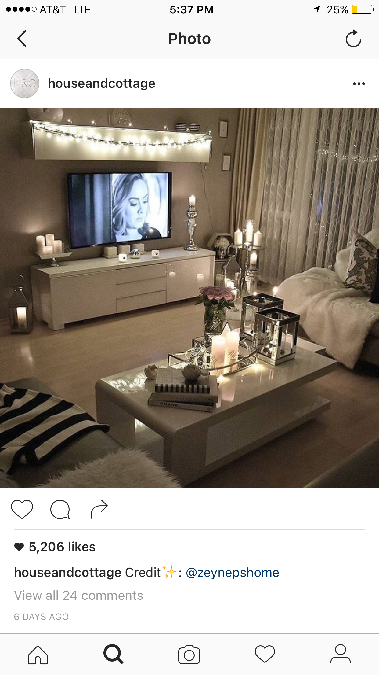 Cosy White Living Room With Candles Small Apartment Living Room Living Room Decor Apartment Apartment Living Room