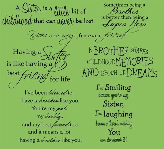 Brothers And Sisters I So Want To Find A Hard Copy Of This Sister Quotes Brother Sister Quotes Sister Quotes Images