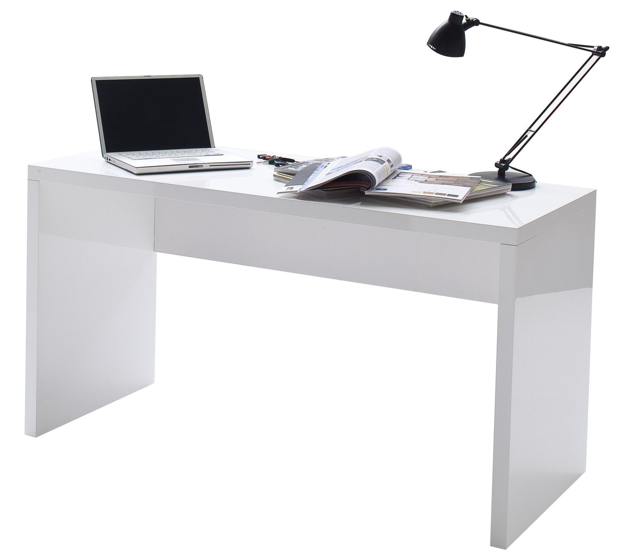 11 Mieux Bureau Blanc Laque Ikea