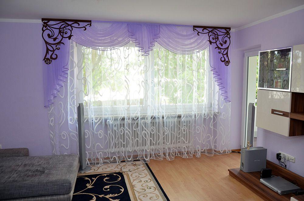 Wohnzimmer « Gardinen Liliya шторы в спалню Pinterest - Raffrollo Für Wohnzimmer