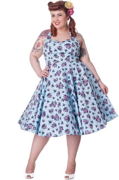 Piniful Plus Size Retro Dresses 24 Plussizefashion Plus