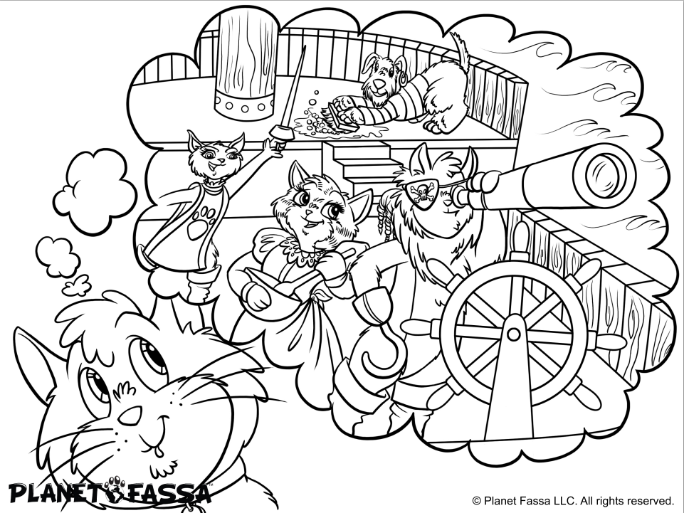 Free Coloring Pages For Kids Get Super Cute From A New Childrens