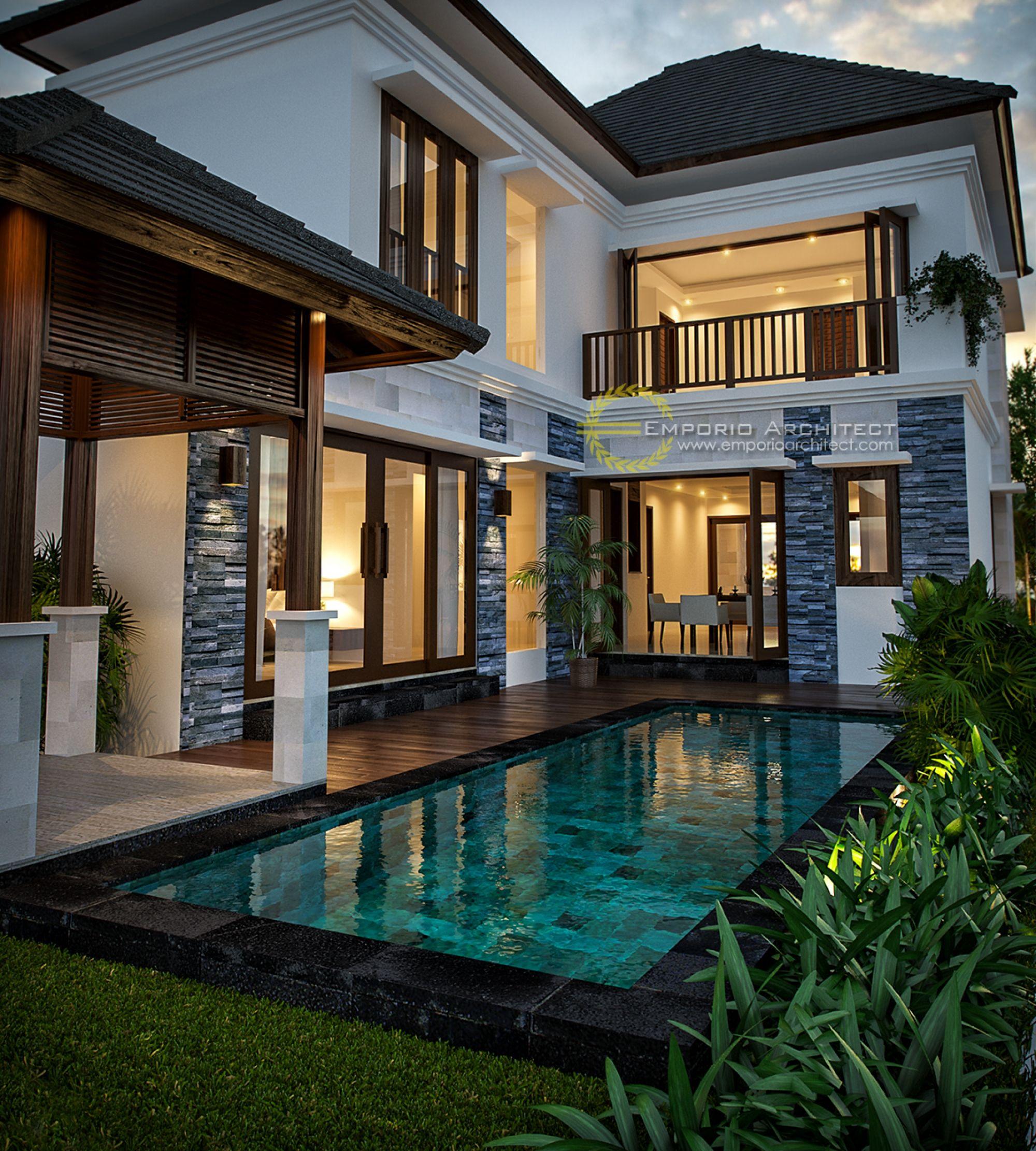 Jasa Arsitek Desain Rumah Bapak Ade Desain Rumah Eksterior Eksterior Rumah Home Fashion