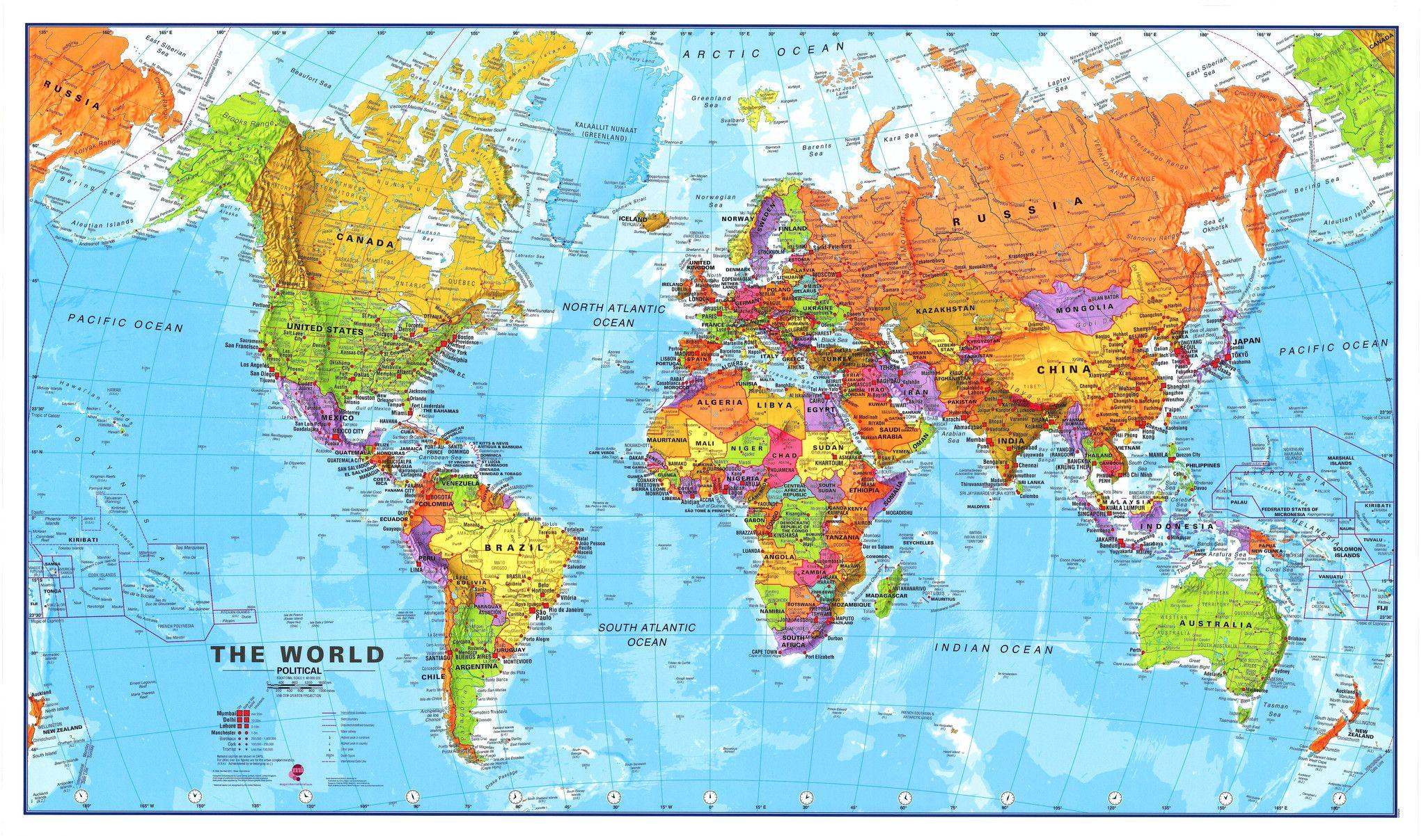 World maps international 120 million supermap 2000 x 1200mm world maps international 120 million supermap mapworld gumiabroncs Images