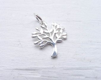 Inspiring Etched Tree Of Life Necklace  Tree Of by yourcharmedlife