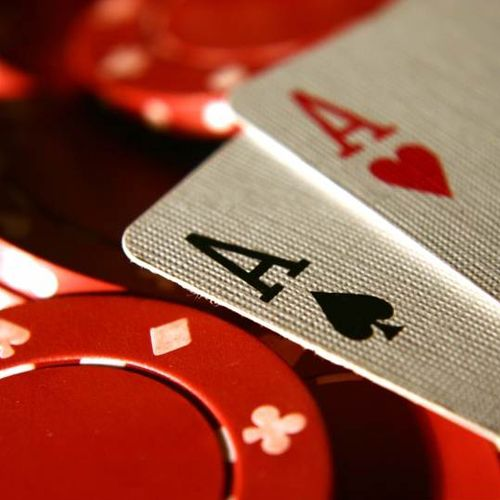 Chips Cards Gambling Old Best Friends Poker
