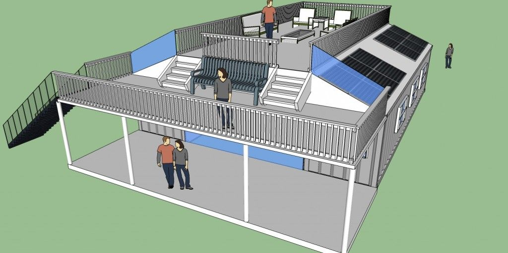 10k 1280 Sqft Ranch Style Container Home