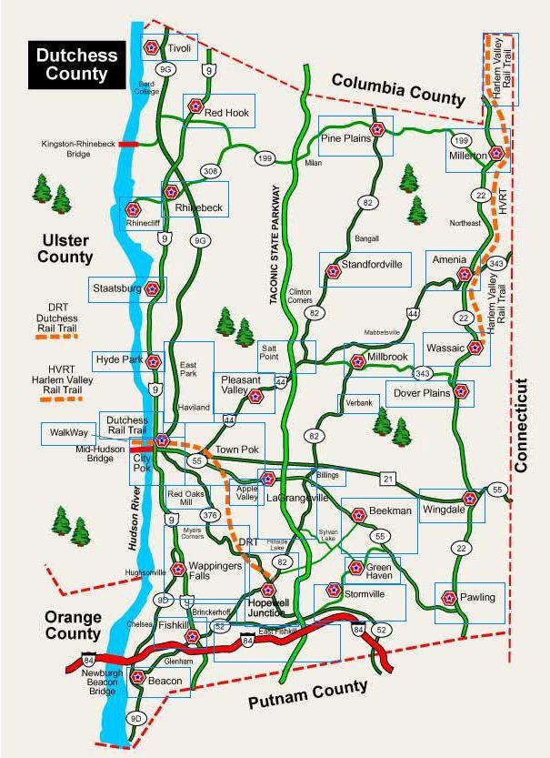 New York 1876 Dutchess County Map Dutchess County Stock ...  |New York Dutchess County Soils Maps