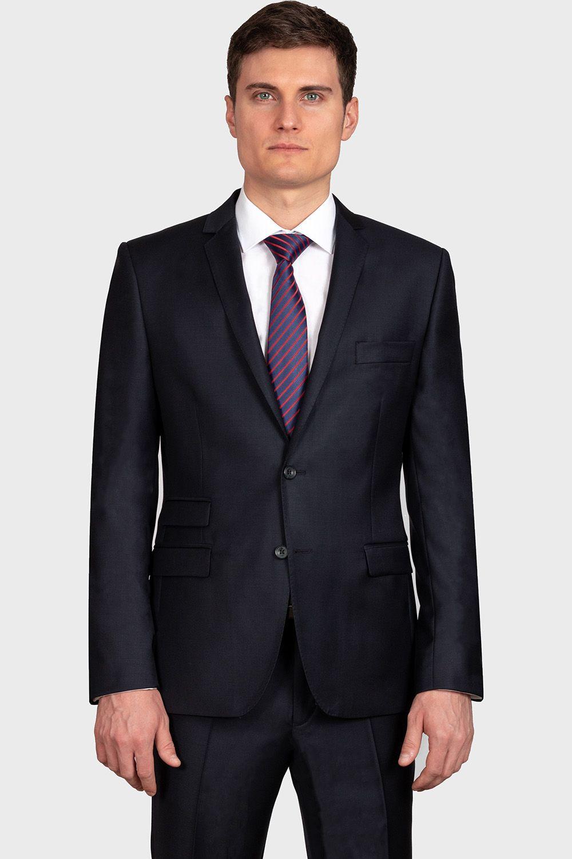 ab83d60cec Cerruti slim fit navy blue öltöny | Öltöny ekkor: 2019 | Suit Jacket ...