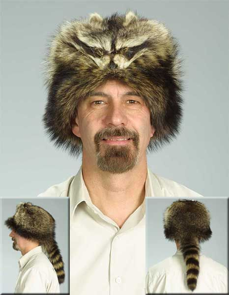Diy Mountain Man Raccoon Hat Trapping Pinterest Diy Leather