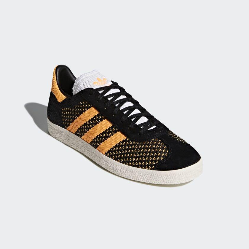 adidas originals gazelle primeknit baskets noir