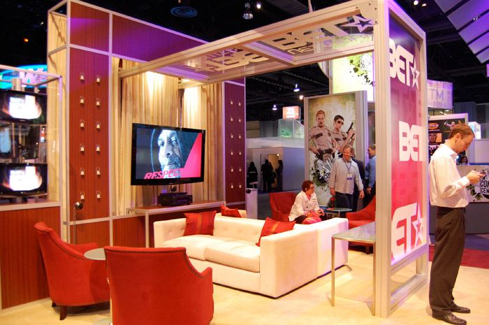 Exhibition Booth Setup : Trade show booth ideas with tv spa pinterest
