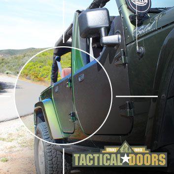 Welcome To Strike Force Zebra Creator Of The Jk Tactical Half Doors Half Doors Jeep Wrangler Unlimited Jeep Half Doors