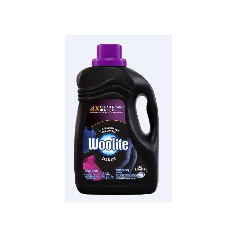 Woolite Darks Detergent 125oz Woolite Laundry Detergent