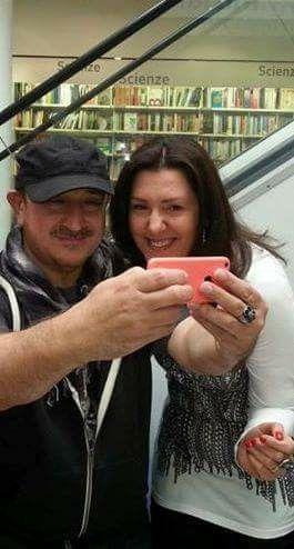 Selfie con Ghigo Renzulli, 2014.