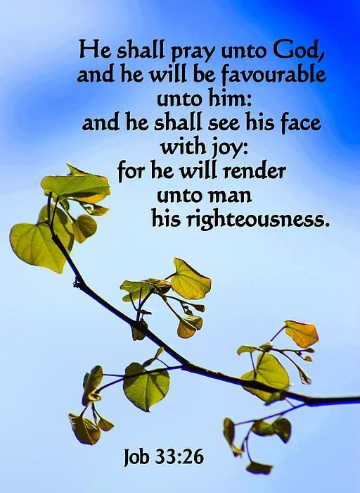 Job 33:26