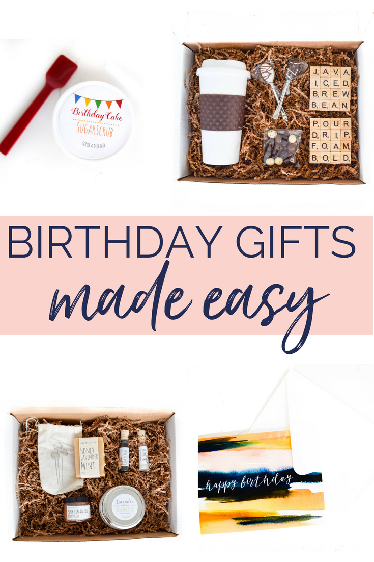 Birthday Gift Shopping Made Easy Create A Personalized Care Package With Themed Items To Say Happy Your Favorite College Student