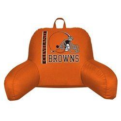 Cleveland Browns Bed Rest Backrest Reading Pillow  f24ece644