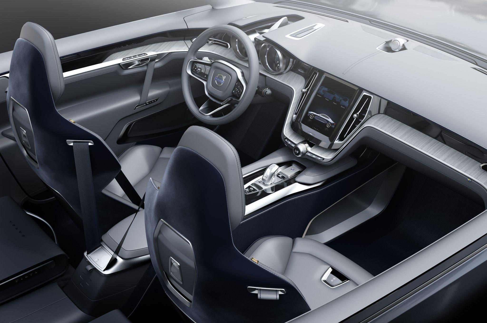2015 Volvo Concept Xc Coupe Interior Car Interior Volvo