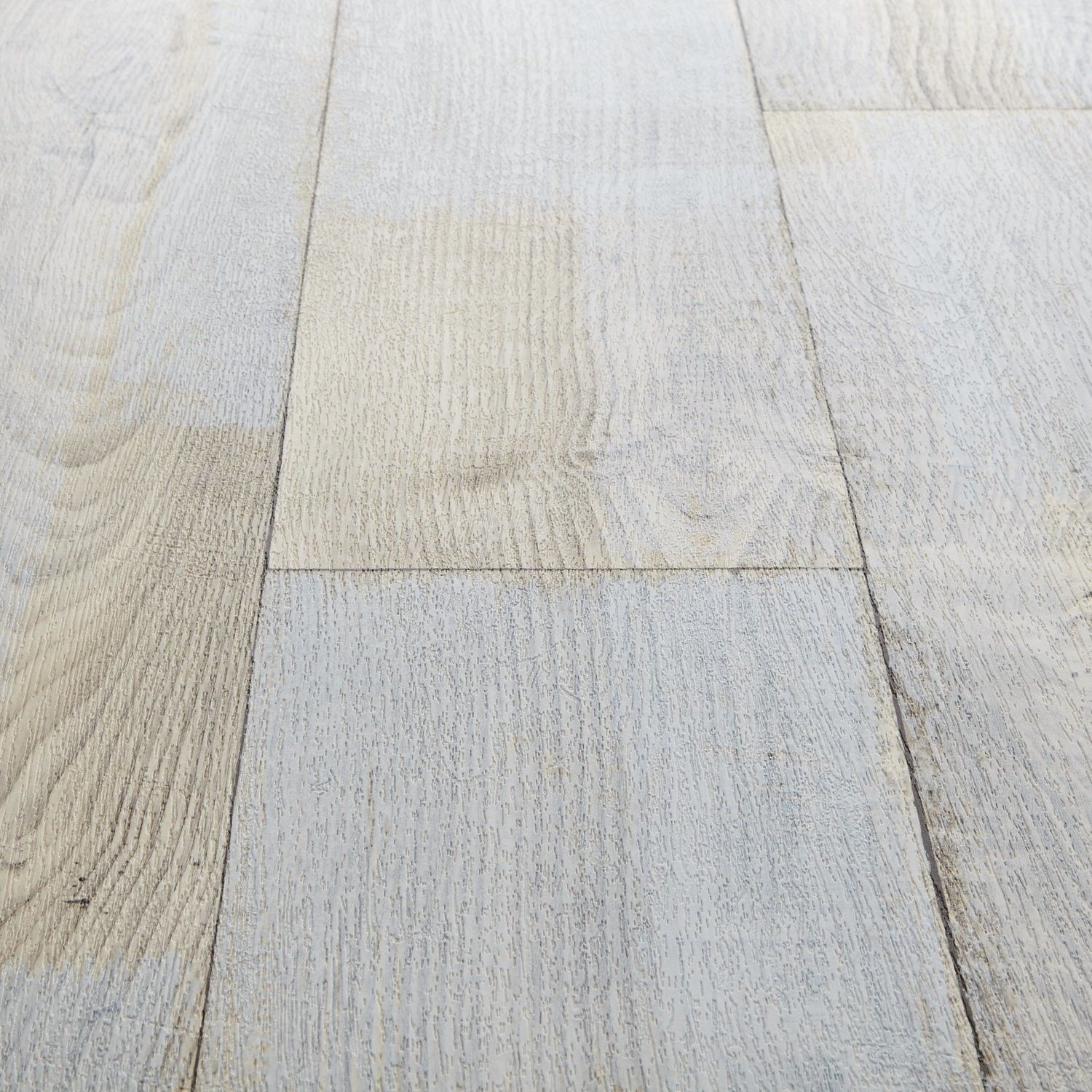 Wood Effect Laminate Flooring For Bathrooms: Rhino Style Patched White Wood Effect Vinyl Flooring