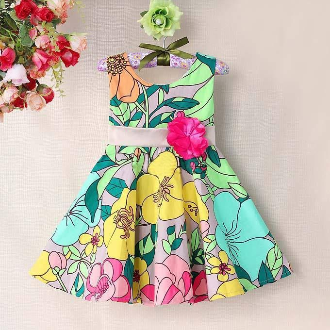 Summer dress for girls size 6