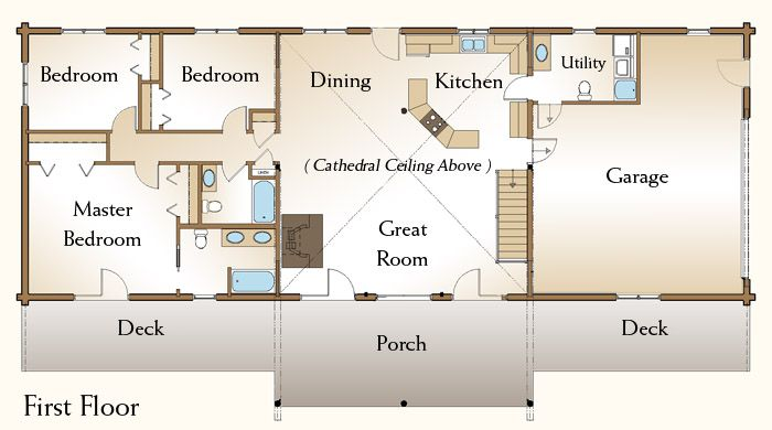 Log Cabins Floor Plans And Pictures Log Homes Since 1963
