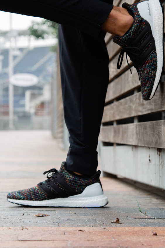 Details about adidas Mens UltraBoost ST Running Shoes Trainers Road Knit Stretch