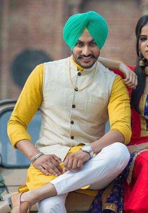Rajvir jawanda | Styles in 2019 | Kurta pajama men, Mehndi ...
