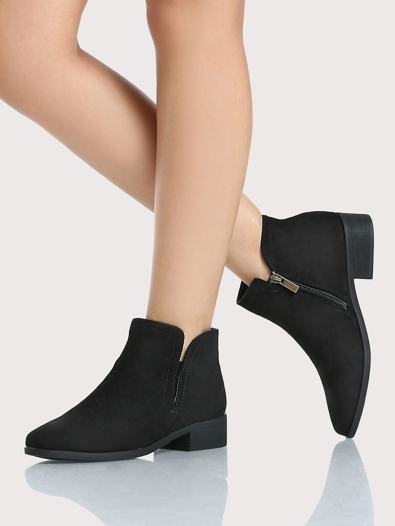 Inexpensive Cute Women s Booties-Boots Under  36 -- Mommy Blogger-Vlogger  -- The Overwhelmed Mommy 0d485b95f7