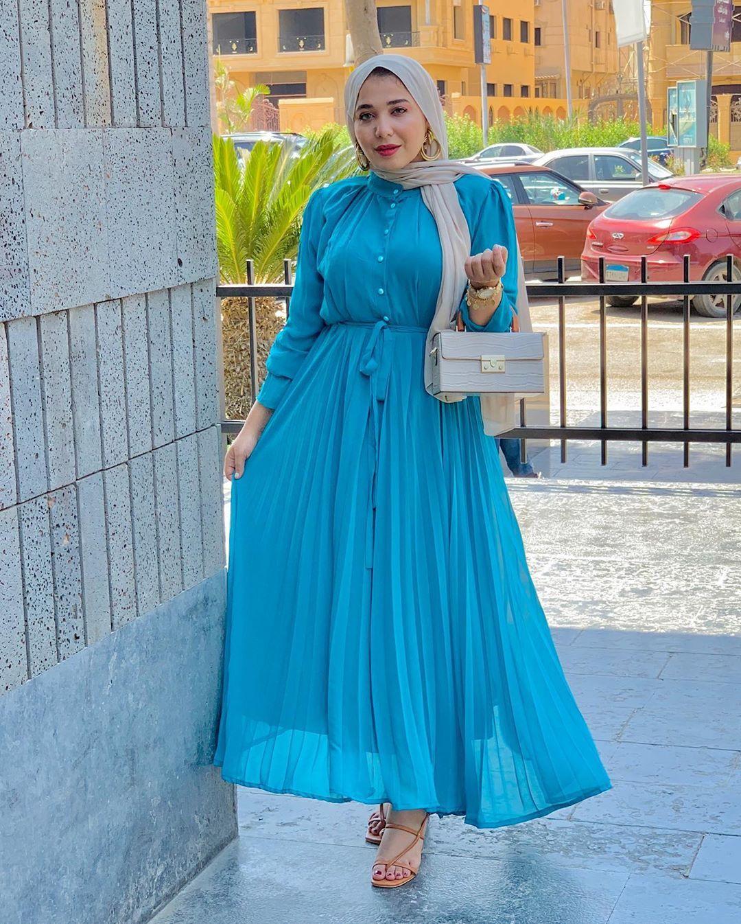 موديلات فساتين للمحجبات للخروج 2021 Formal Dresses Long Long Sleeve Dress Dresses