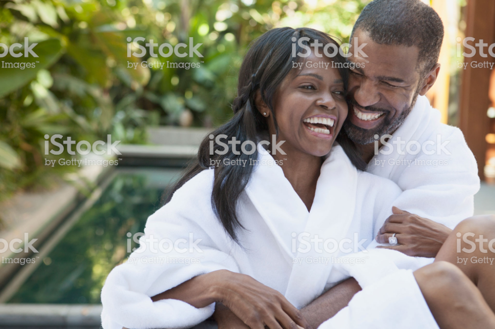 african american couple cuddling at outdoor spa – #african #american #Couple #Cuddling #Outdoor