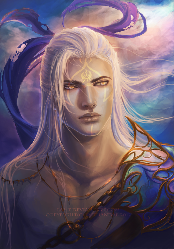 Reminds me of Rowan Whitethorn, an character in