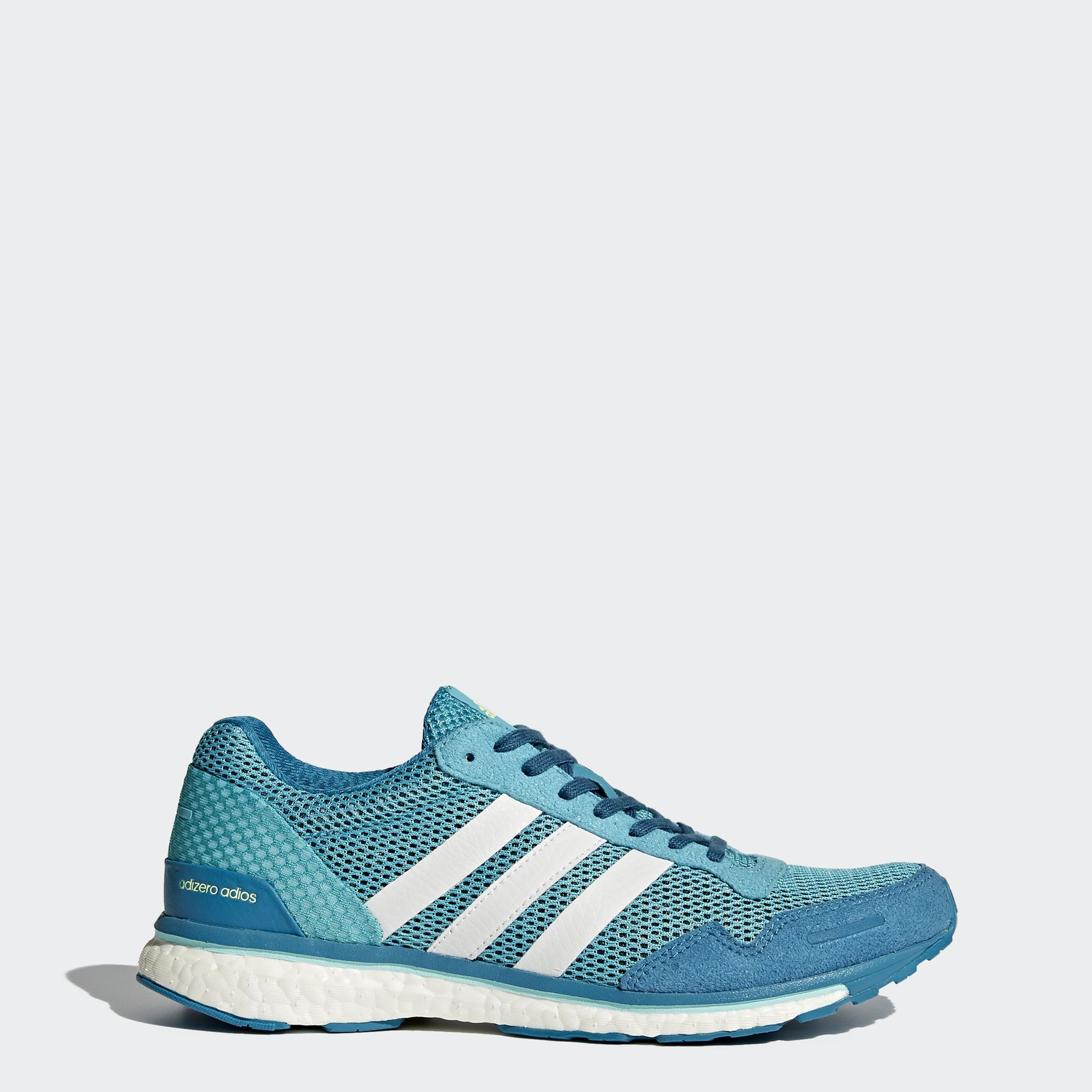 Tenis adidas Adizero Adios Boost 3 Negro Azul Correr Running