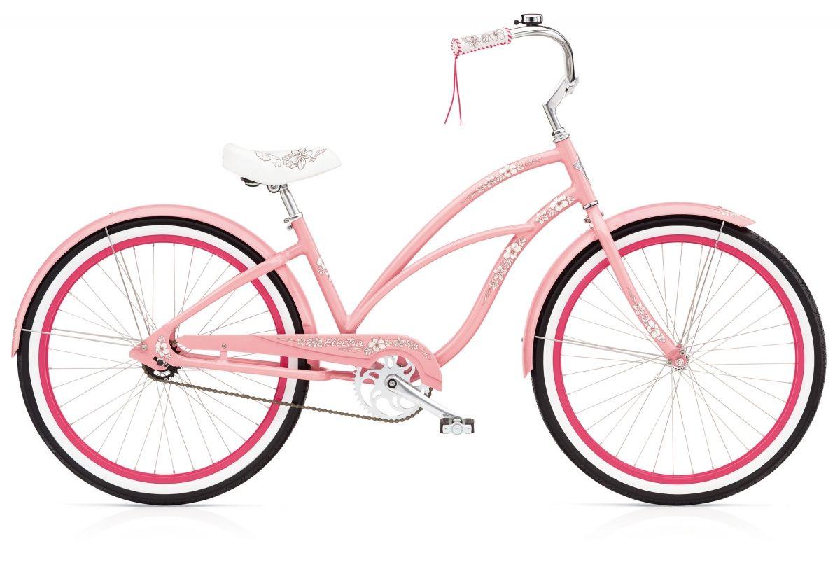 Electra Hawaii 3i Pink Bicycle Design Retro Bike Beach Cruiser